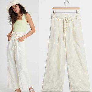 Anthropologie Sammie Striped Paperbag Trousers 2